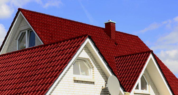 Ilustrasi Atap Bangunan