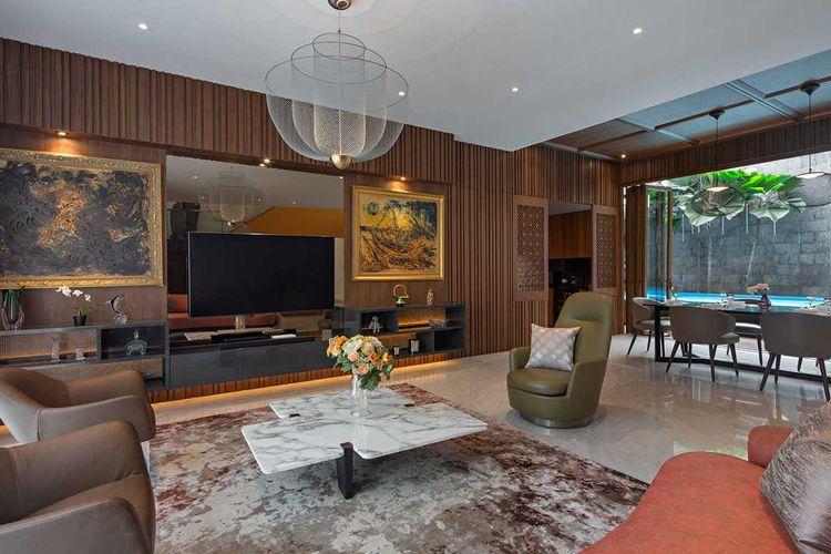 Interior Rumah Minimalis Modern Eklektik