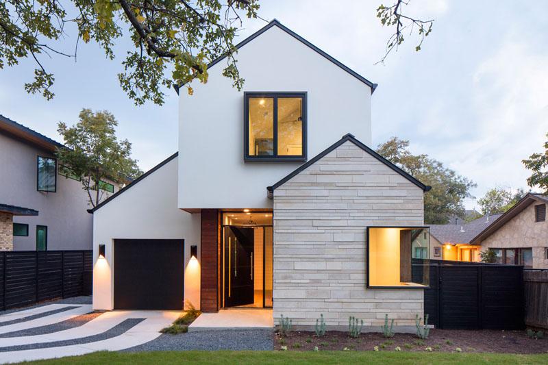 Ilustrasi Desain Arsitektur Rumah