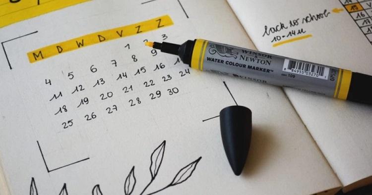 Membuat jadwal harian, Sumber: glitzmedia.co